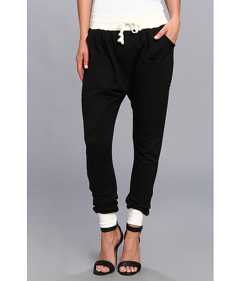 Pantaloni Brigitte Bailey - Black Out Colorblock Jogger Pant - Black
