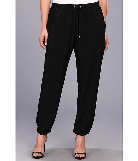 Pantaloni Vince Camuto - Plus Size Track Pant - Rich Black