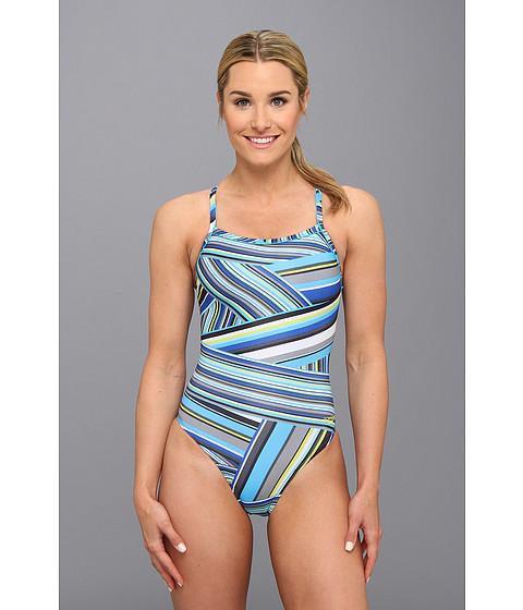 Costume de baie Speedo - Rainbow Stripe Flyback - Deep