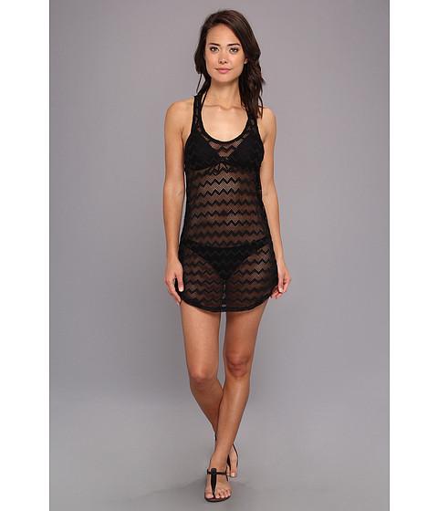 Costume de baie Roxy - Making Waves T-Back Crochet Dress Cover Up - True Black