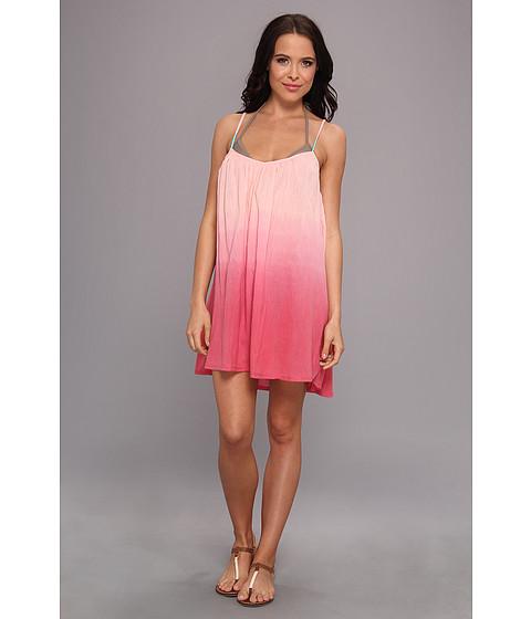 Costume de baie Roxy - Strappy Gauze Dress Cover Up - Glow Pink