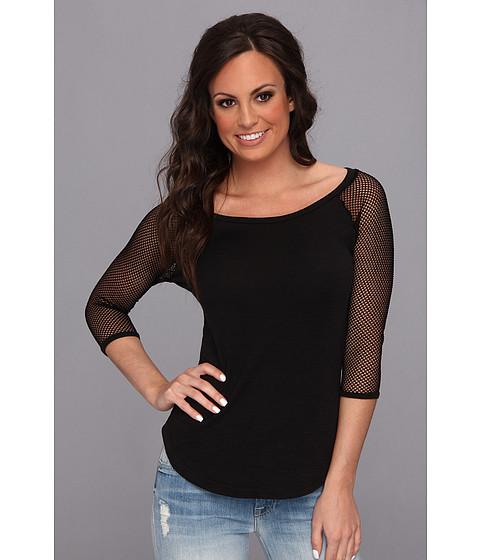 Bluze Roper - 9061 Cotton Poly Slub Jersey Tee - Black