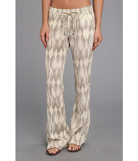 Pantaloni Roxy - Sandy Seas Pant - Cinder Geo Pattern