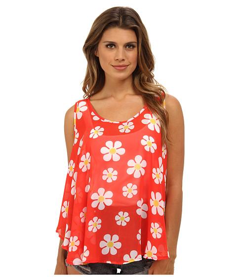 Bluze Gabriella Rocha - Daisy Flower Tank Top - Red