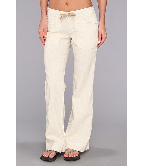 Pantaloni The North Face - Larison Linen Pant - Dune Beige Stripe