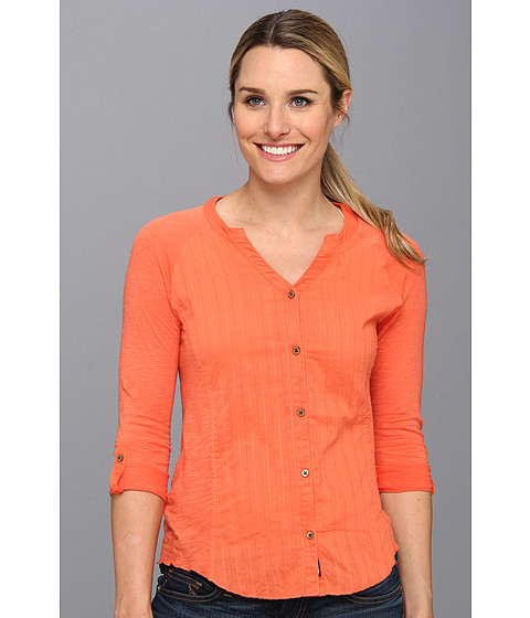 Bluze The North Face - 3/4 Sleeve De Hara Shirt - Miami Orange
