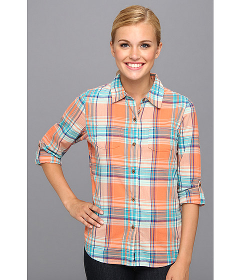 Bluze The North Face - L/S Alemany Plaid Shirt - Miami Orange