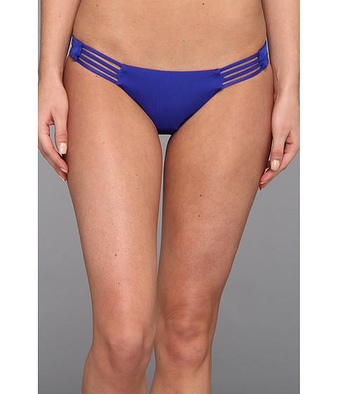 Costume de baie Vitamin A Silver Swimwear - Solange Triple Strap Hipster Bottom - Electric Blue