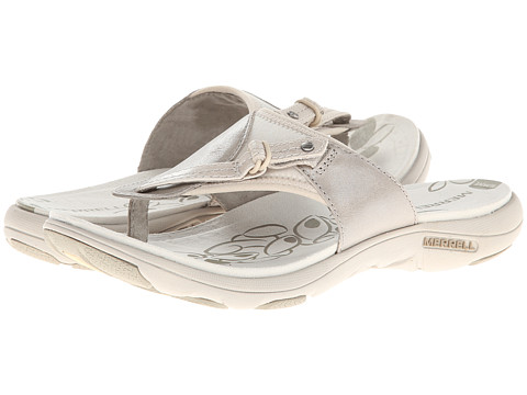 Sandale Merrell - Grace Lavish Flip - Aluminum