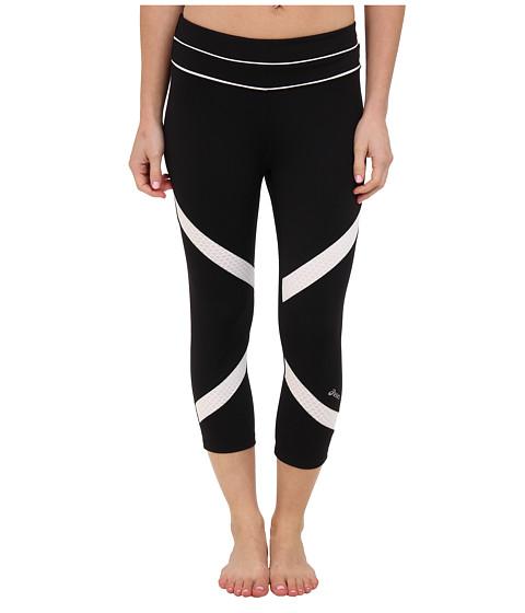 Pantaloni ASICS - Amarra Capri - Black/White