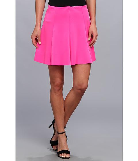 Fuste Gabriella Rocha - Phoebe Scuba Skater Skirt - Neon Pink