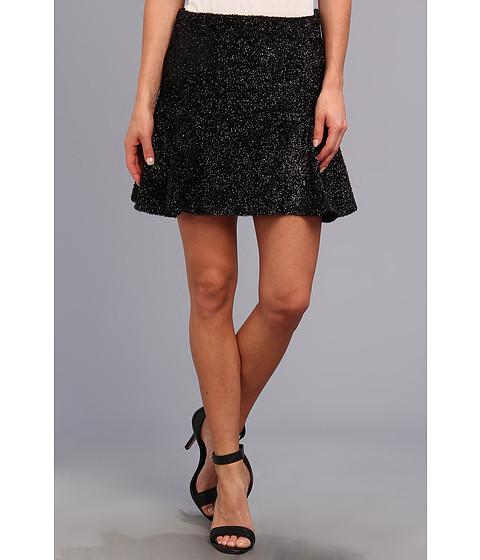 Fuste Brigitte Bailey - Fuzzy Sparkle Skirt - Black