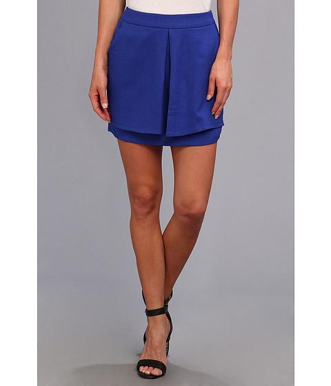 Fuste Brigitte Bailey - Knockout Slit Shorts - Blue