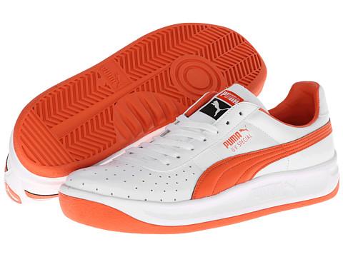 Adidasi PUMA - GV Special - White/Tigerlily