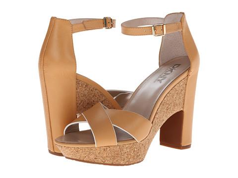Pantofi DKNY - Willa Ankle Strap - Natural Shiny Calf