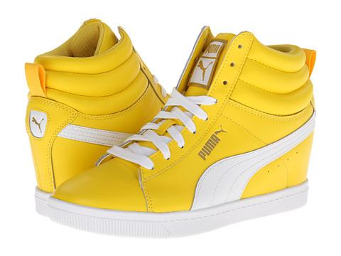 Adidasi PUMA - Puma Classic Wedge LL - Dandelion/White