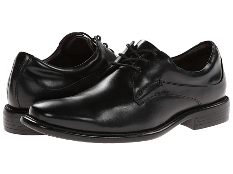 Pantofi Johnston & Murphy - Tilden Plain Toe - Black Smooth Calfskin