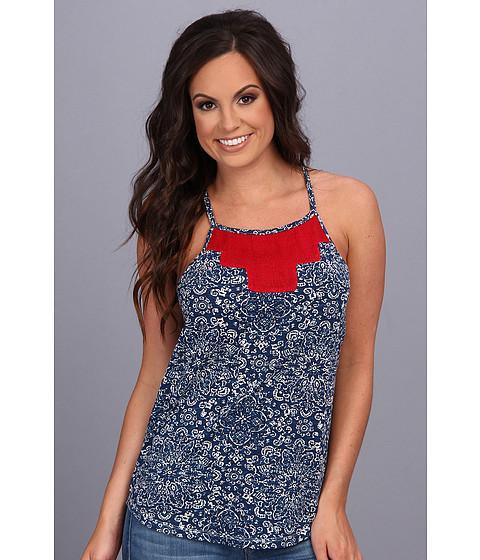 Bluze Lucky Brand - Isabella Tank - Blue Multi