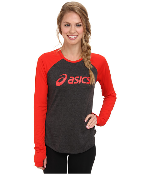 Bluze ASICS - Ryleigh L/S Tee - Flame Red