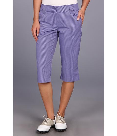 Pantaloni Oakley - Troon Seersucker Capri - Spectrum Blue