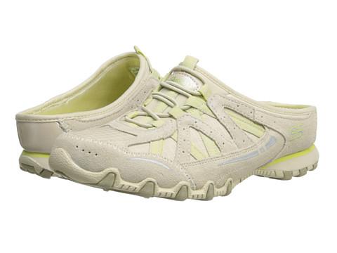 Adidasi SKECHERS - Lily Pad - Natural/Yellow