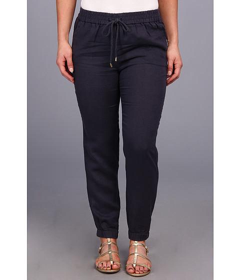 Pantaloni MICHAEL Michael Kors - Petite Linen Track Pant - Washed Indigo