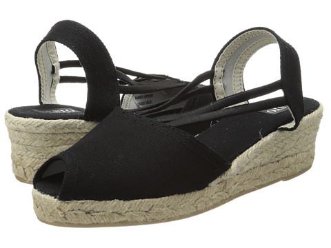 Sandale Sesto Meucci - 858 - Black Lona Fabric