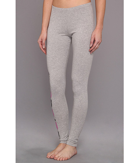 Pantaloni Adidas Originals - MLI Trefoil Leggings - Medium Grey Heather/Joy Orchid