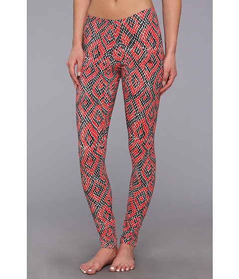 Pantaloni Adidas Originals - Python Graphic Leggings - Bliss/Black/Collegiate Red