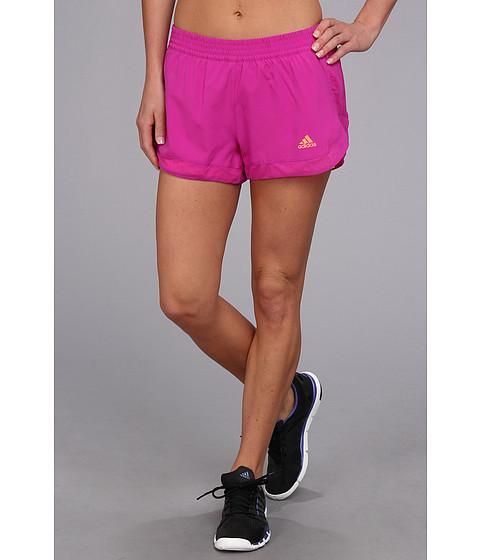 "Pantaloni adidas - TECHFITâ""¢ 2-in-1 Woven Short - Vivid Pink/Glow Orange"