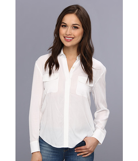 Bluze AG Adriano Goldschmied - Sway Shirt - True White