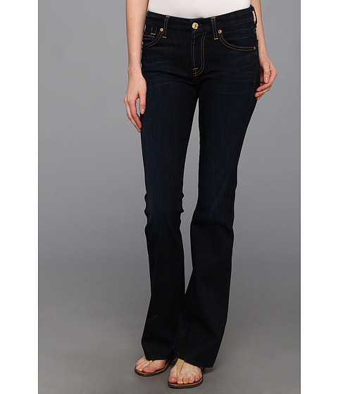 Blugi 7 For All Mankind - Kimmie Bootcut in Slim Illusion Classic Dark Blue - Slim Illusion Classic Dark Blue