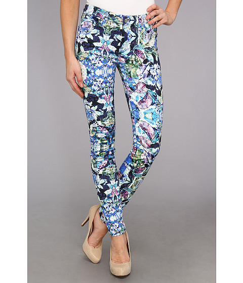 Blugi 7 For All Mankind - Skinny w/ Contour WB in Kaleidoscope Floral - Kaleidoscope Floral
