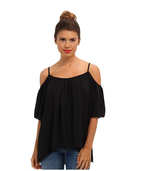 Bluze Brigitte Bailey - Open Shoulder Top - Black