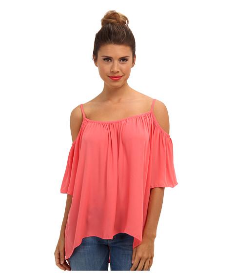 Bluze Brigitte Bailey - Open Shoulder Top - Coral