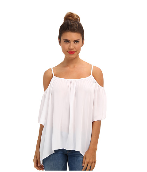 Bluze Brigitte Bailey - Open Shoulder Top - White