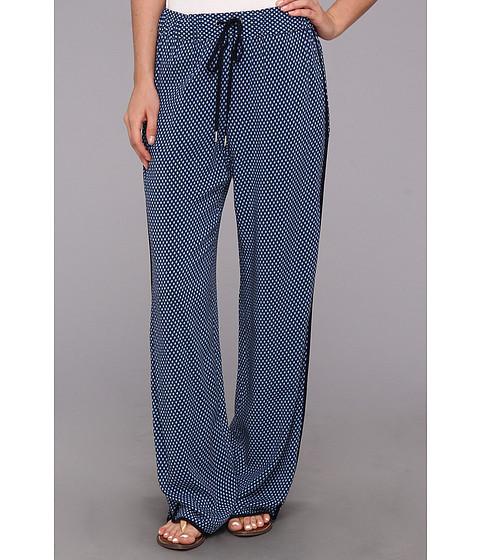 Pantaloni Vince Camuto - Stylish Geo Wide Leg Pant - Blue Night