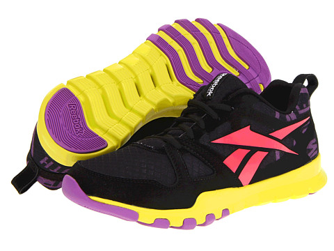 Adidasi Reebok - SubLite Train 1.0 - Black/Party Purple/Coral Contrast/Solar Green
