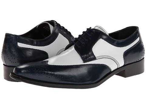 Pantofi Giorgio Brutini - Morse - Navy/White