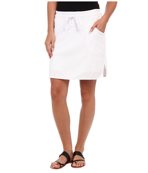 Fuste Jones New York - Skort w/ Rib - White