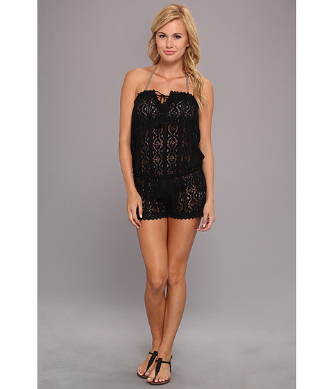 Costume de baie ONeill - Jaden Romper Cover-Up - Black