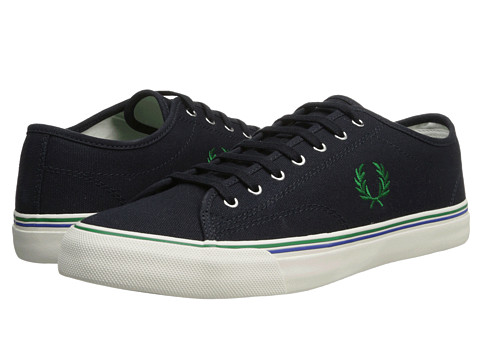 Adidasi Fred Perry - Kendrick Canvas - Navy/Privet Green