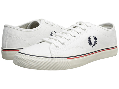 Poza Adidasi Fred Perry - Kendrick Canvas - White/Navy/Fiery Red