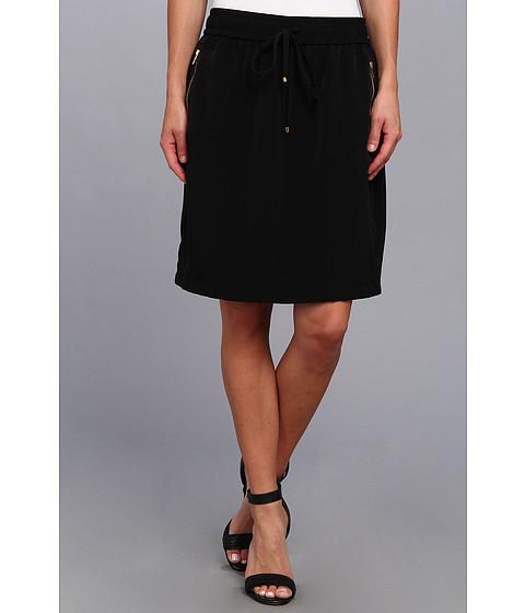Fuste Calvin Klein - Drawstring Skirt - Black