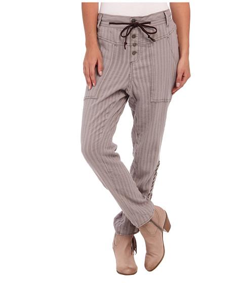 Pantaloni Free People - Crochet Harem Pant - Taupe