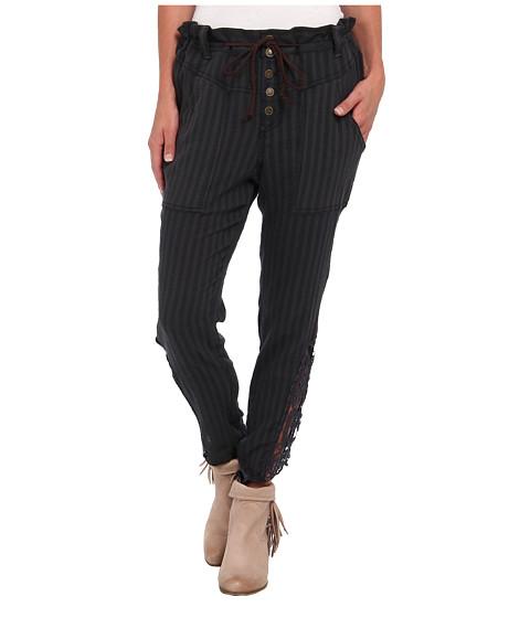 Pantaloni Free People - Crochet Harem Pant - Washed Black