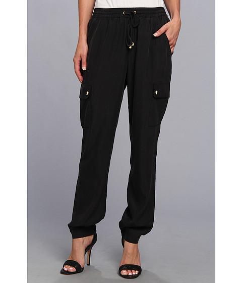 Pantaloni Vince Camuto - Two-Pocket Drawstring Pant - Rich Black