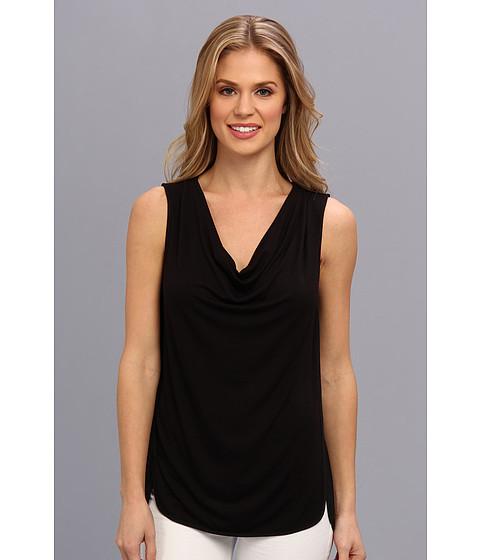 Bluze Calvin Klein - Sleeveless Seamed Cowl w/ CDC - Black