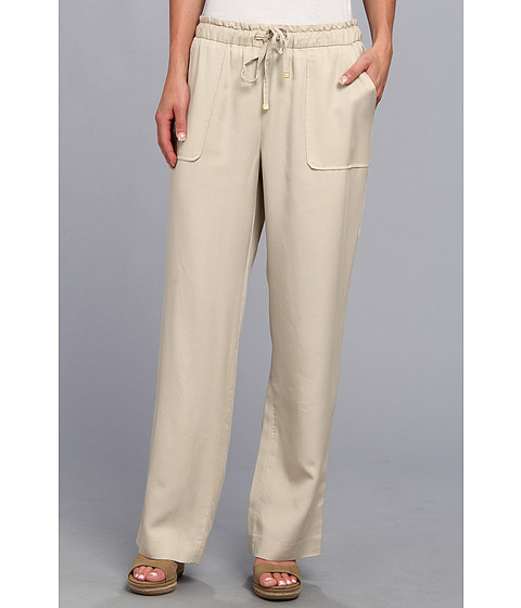 Pantaloni Vince Camuto - Textured TencelÃ'® Two-Pocket Drawstring Pant - Cashew
