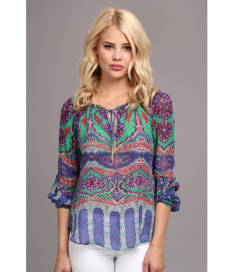 Bluze Hale Bob - Exotic Kiss L/S Tunic - Blue